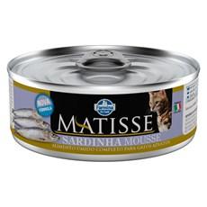 Ração Úmida Matisse Gatos Sardinha Mousse - 85g
