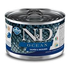 Ração Úmida N&D Ocean Cães Salmão E Bacalhau - 140g