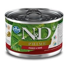 Ração Úmida N&D Prime Cães Adultos Frango e Romã - 140g