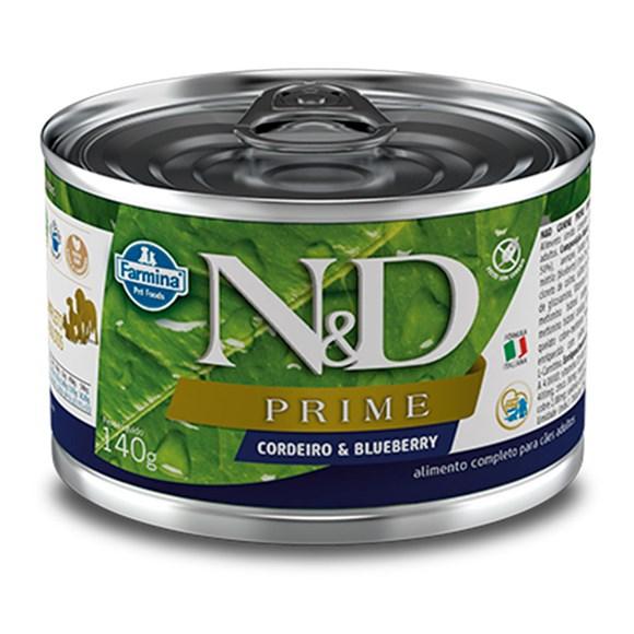 Ração Úmida N&D Prime Cães Cordeiro - 140g