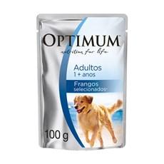 Ração Úmida Optimum Sachê Cães Adultos Frango – 100g