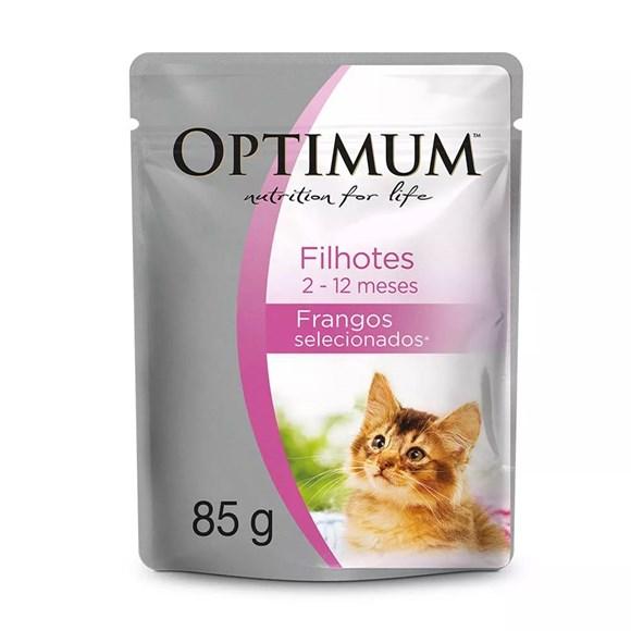 Ração Úmida para Gatos Filhotes - Optimum