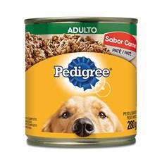 Ração Úmida Pedigree Lata Cães Adultos Carne – 280g