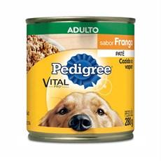 Ração Úmida Pedigree Lata Cães Adultos Frango – 280g