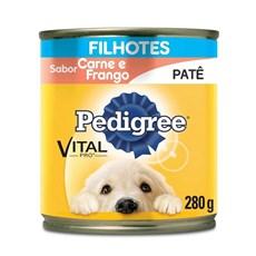 Ração Úmida Pedigree Lata Cães Filhotes Frango e Carne – 280g