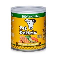Ração Úmida Pet Delícia Cães Risotinho de Frango - 320g