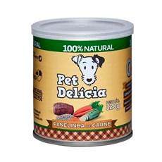 Ração Úmida Pet Delícia Panelinha de Carne Cães - 320g