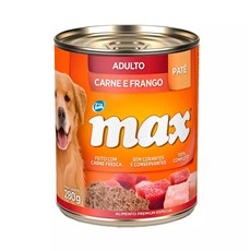 Ração Úmida Total Max Lata Cães AD. Carne/Frango - 280g