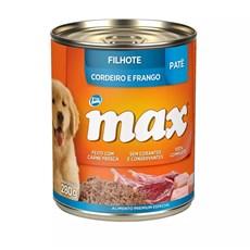 Ração Úmida Total Max Lata Cães Filhote Cordeiro/Frango - 280g
