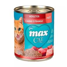 Ração Úmida Total Max Lata Gatos AD. Carne/Fgo - 280g