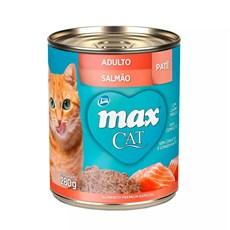Ração Úmida Total Max Lata Gatos AD. Salmão - 280g