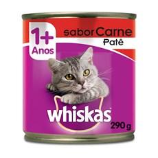 Ração Úmida Whiskas Lata Gatos Adultos Carne – 290g