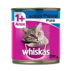 Ração Úmida Whiskas Lata Gatos Adultos Peixe – 290g