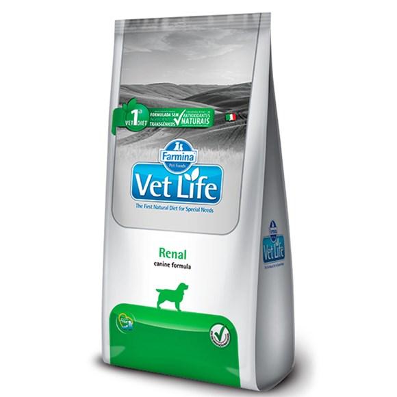 Ração Vet Life Cães Adultos Renal - 2kg