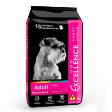 Rações Dog Excellence Super Premium Adulto Raças Médias - 15kg