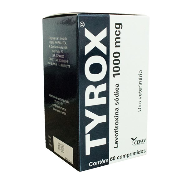 Recompositor Hormonal Tyrox - 1000mg