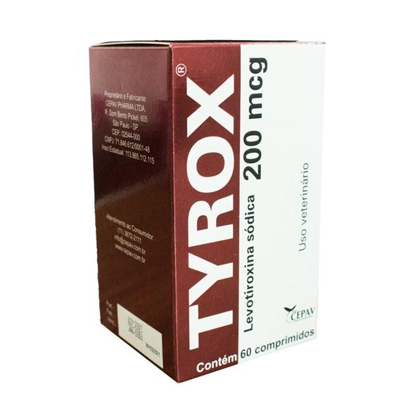 Recompositor Hormonal Tyrox - 200mg