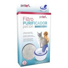 Refil Filtro Purificador Fonte Bebedouro Petlon para Pets - 3 Unidades