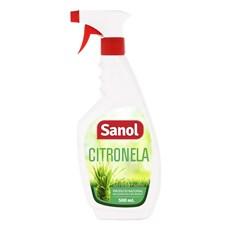 Repelente Spray Sanol Citronela - 500mL