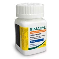 Rimadyl Anti-inflamatório Para Cães 25mg Com 14 Comprimidos