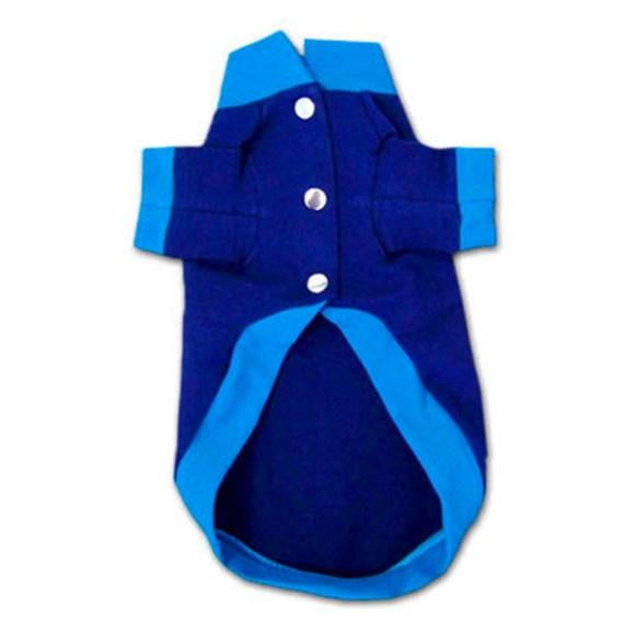 Roupa para Cachorro Sweet Coat Azul Pickorruchos