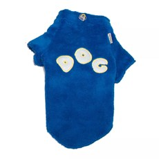 Roupinha Fleece Dog Azul Pickorruchos