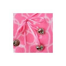 Roupinha para Cachorro Vestido Estampado Rosa Pickorruchos