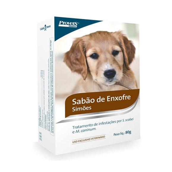Sabão Para Cães Enxofre Simões – 80g