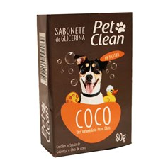Sabonete De Coco Pet Clean – 80g