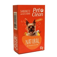Sabonete Natural Pet Clean – 80g