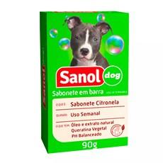 Sabonete Sanol Dog Citronela para Cães e Gatos - 90g