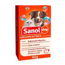 Sabonete Sanol Dog Neutro para Cães e Gatos - 90g