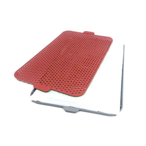 Sanitario Higienico P/ Caes Xixi Pet's Vermelho 60x40