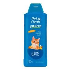 Shampoo 2 em 1 Gatos Pet Clean – 700mL