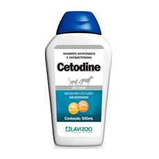 Shampoo Antibactericida Cetodine Cães e Gatos Lavizoo - 500mL