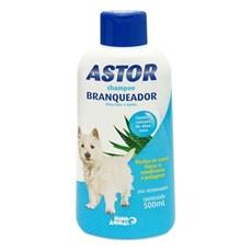 Shampoo Astor Branqueador Cães Mundo Animal - 500mL