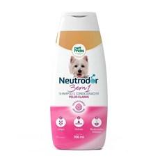 Shampoo Cães Petmais 3 em 1 Pelos Claros Neutrodor - 700mL