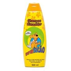 Shampoo Clareador De Pelos Para Cachorros 500ml Super Secão