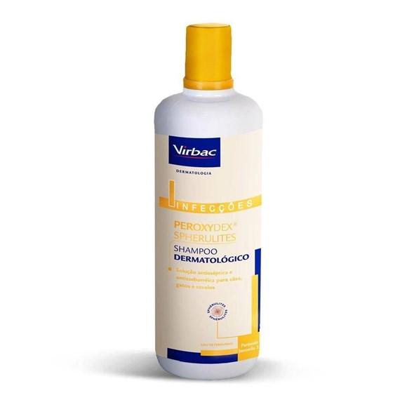 Shampoo Dermatologico Peroxydex Caes E Gatos 125mL - Virbac