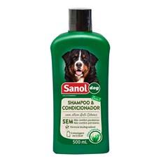 Shampoo e Condicionador Sanol Dog - 500mL