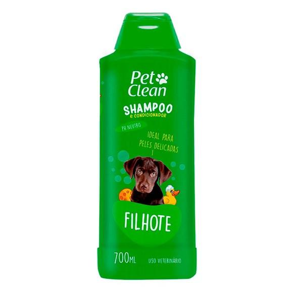 Shampoo Filhotes Cães e Gatos Pet Clean – 700mL