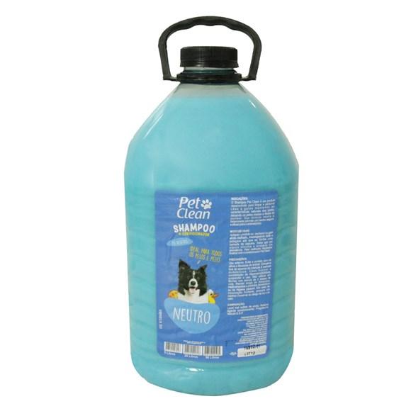 Shampoo Neutro Cães e Gatos Pet Clean - 5 Litros