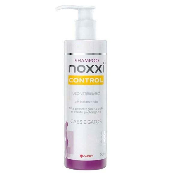 Shampoo Noxxi Control Avert Caes e Gatos - 200 mL