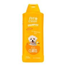 Shampoo Pelos Claros Cães e Gatos Pet Clean – 700mL