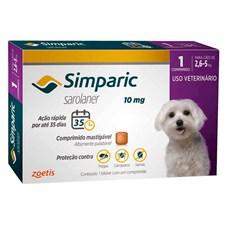 Simparic Antipulgas e Carrapatos Cães 2,6 A 5Kg