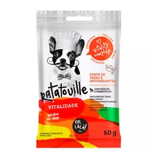Snack Oh LáLá Cães Ratatouille Vitalidade - 60g