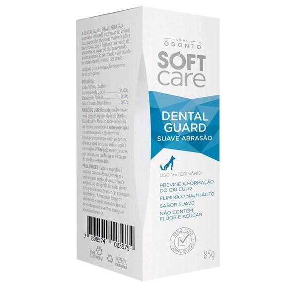 Soft Care Dental Guard Creme Dental Suave 85g - Pet Society