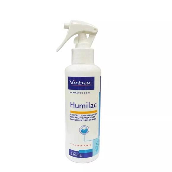 Solucao Dermatologica Humilac 250ml Spray - Virbac