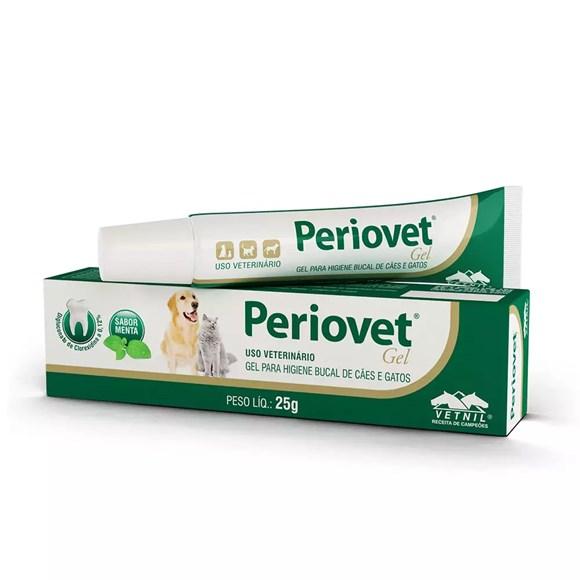 Solução Higiene Bucal Periovet Gel Vetnil – 25g