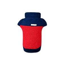 Suéter de Tricô Vermelho para Cães